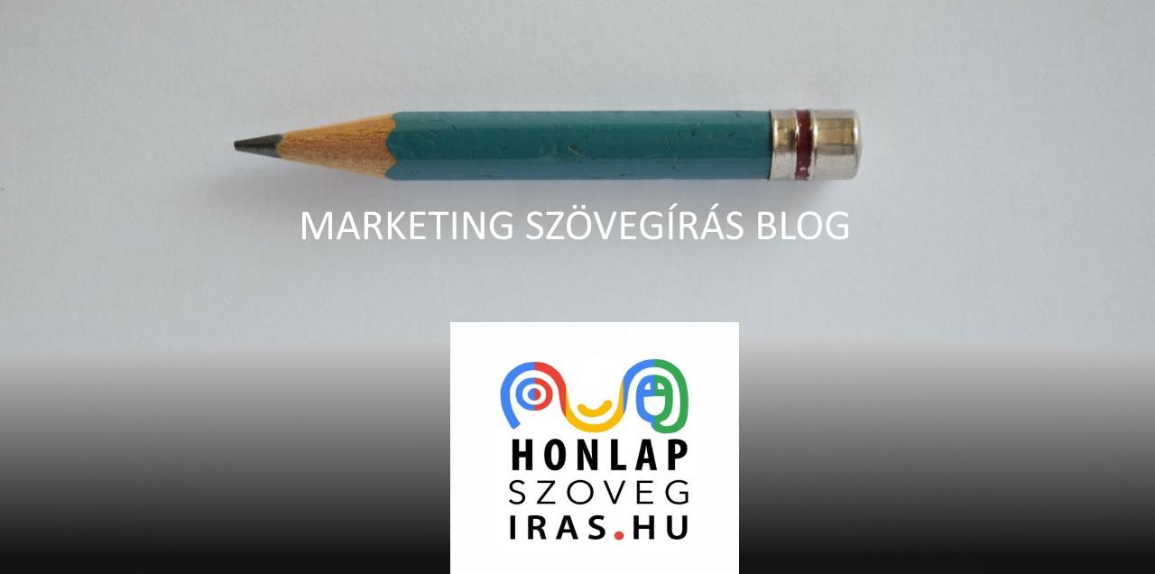 marketing szövegírás blog, cikkek