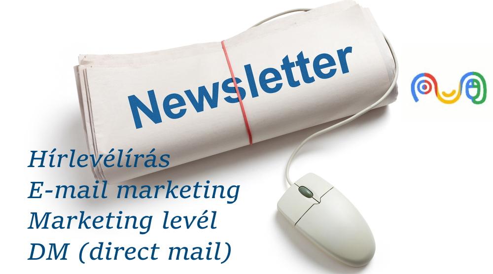 hírlevélírás hírlevél készítés marketing szövegírókkal